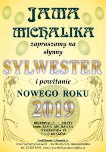 Jama Michalika Sylwester 2018