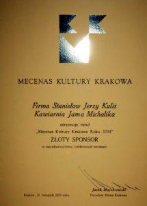 Jama Michalika Mecenas Kultury